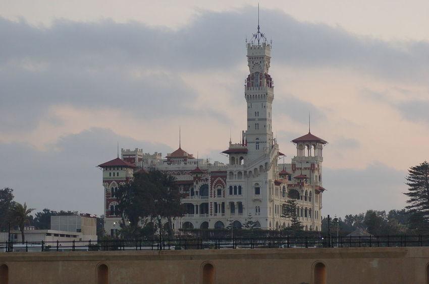 Alexandria Egypt Egypt Montaza Sky Architecture Travel Destinations Landscape Cityscape Castle