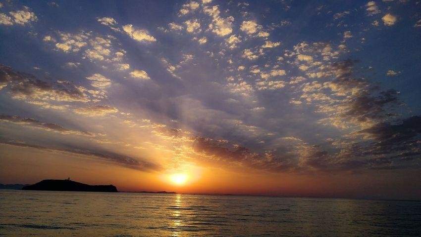 Water Sea Sunset Beach Wave Blue Beauty Silhouette Summer Low Tide