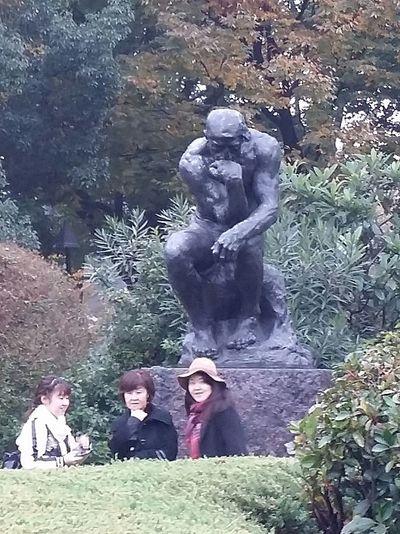 Rodin The Thinker Sculpture Art National Museum Of Western Art Ueno Park Tokyo Tokyoautumn Tokyoautumn2016 Tokyostreetphotography Streetphotography Japanstreetphotography Bnwstreetphotography