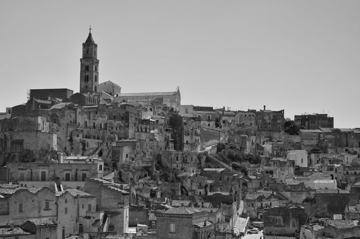 The Street Photographer - 2017 EyeEm Awards The Great Outdoors - 2017 EyeEm Awards Building Exterior Cityscape Architecture Tower Skyscraper Downtown District City Urban Skyline No People Outdoors Sky Day Matera Italy Matera2019 City Architecture History Beach Field