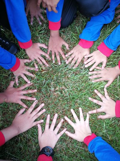 Human Hand Togetherness Teamwork High Angle View Friendship Child Close-up Holi Powder Paint Large Group Of People Talcum Powder Indian Culture  Face Powder Traditional Festival Music Concert Chinese Lantern Chinese New Year