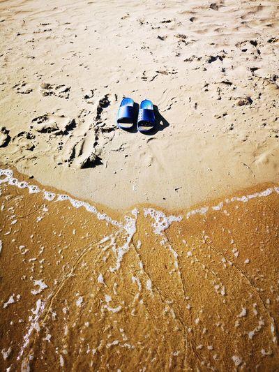 🏖️ Sea Greece Huawei Huaweip20pro Laganas Beach Sand Wet High Angle View FootPrint Horizon Over Water