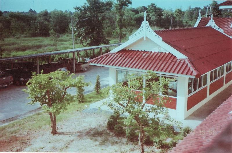 At School. #vintage Film Film Photography Cityscape Canonphotography Landscape Prima Kodak Color Plus200 Tree Sky Architecture