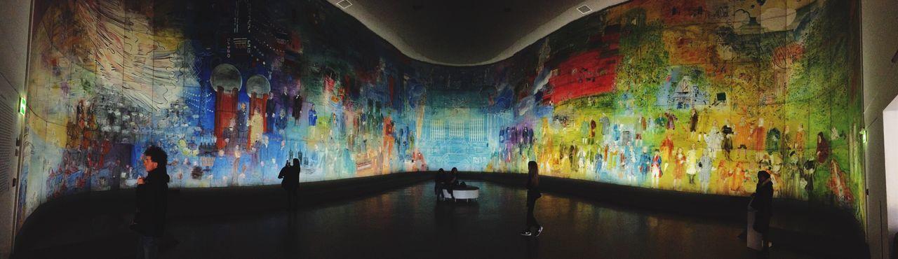 Pastel Power Modern Art Museum Paris. Art Absorbing Discovering Great Works Getting Inspired