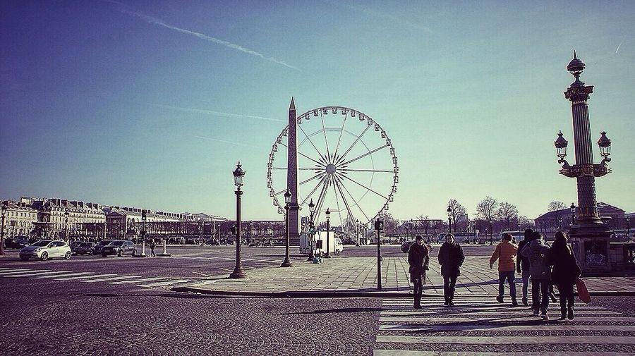 Paris Taking Photos Enjoying Life Art Concorde