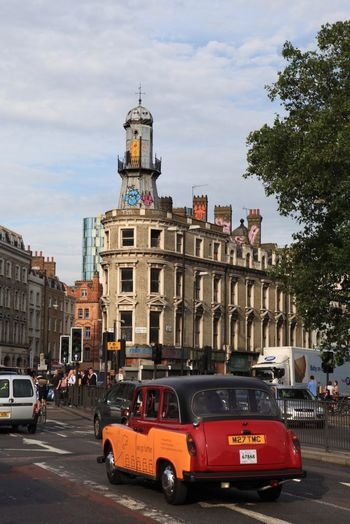 London Lifestyle Building Exterior Architecture City Car Decorations