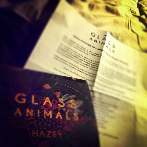 Review done for the amazing new single by GlassAnimals . Will be in next month's Buzzmag . Hazey