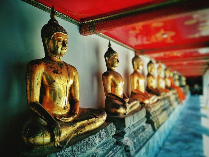 Statue in temple