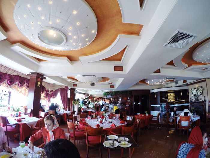 Iran Tehran Taking Photos Restaurant Narehjestan Food Eating Saadat Abad Fun