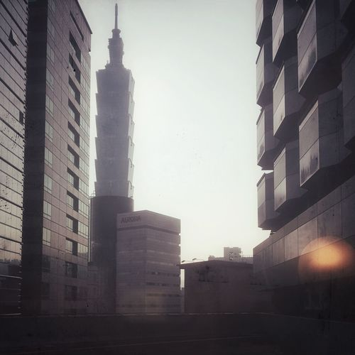 Check This Out Hello World Skyscraper Taipei 101 Filter Alone In The City  Foggy Fine Art