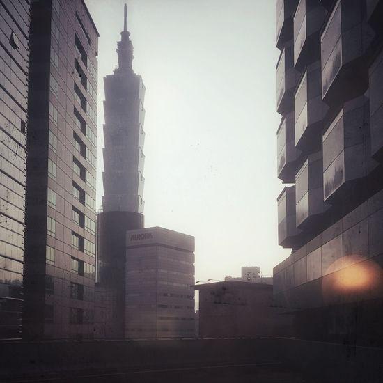 Check This Out Hello World Skyscraper Taipei 101 Filter Alone In The City  Foggy Fine Art