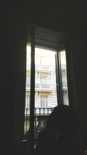 SPAIN #madrid #España Window Indoors  Architecture Built Structure