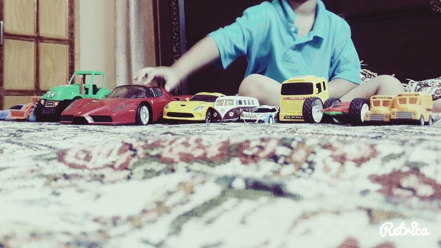 Baby playing Cars My Editing