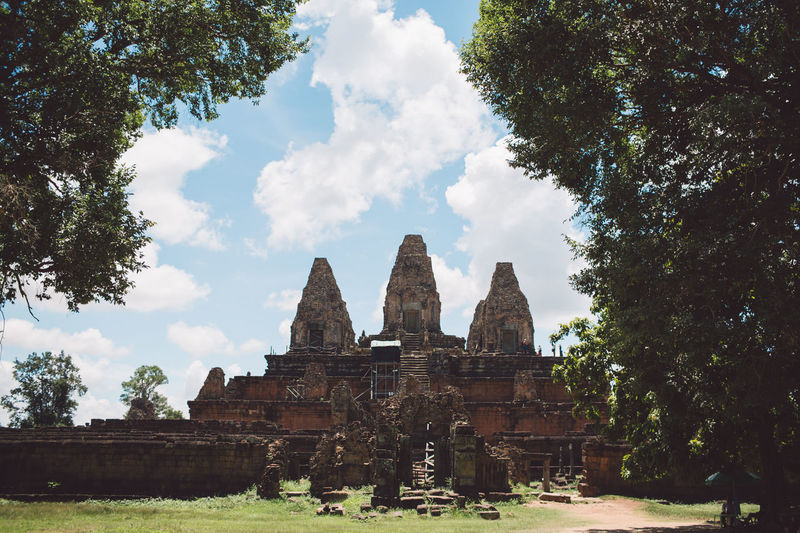 Siem Reap Cambodia Angkor Tree Plant Architecture Religion Built Structure Sky Cloud - Sky History Place Of Worship The Past Travel Destinations Belief Nature Spirituality Building Exterior Day Ancient Tourism Travel No People Outdoors Ancient Civilization Archaeology