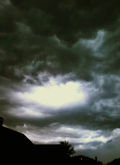 Stormy Skies Hellsgate Glitch Heavensgate Scary Sky Something Wicked This Way Comes Sky And Clouds Storm Deceptively Simple EyeEm Best Shots