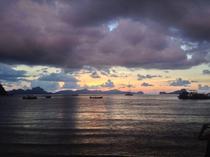 Cloud - Sky Sky Water Sea Scenics - Nature Sunset EyeEmNewHere No People Nature Horizon Idyllic EyeEmNewHere EyeEmNewHere