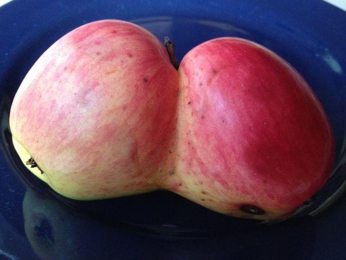 FREAKY APPLE Apple Freaky FREAKY FRUITS Freaky Nature Fruit Fruits Nature Nature On Your Doorstep Twins First Eyeem Photo