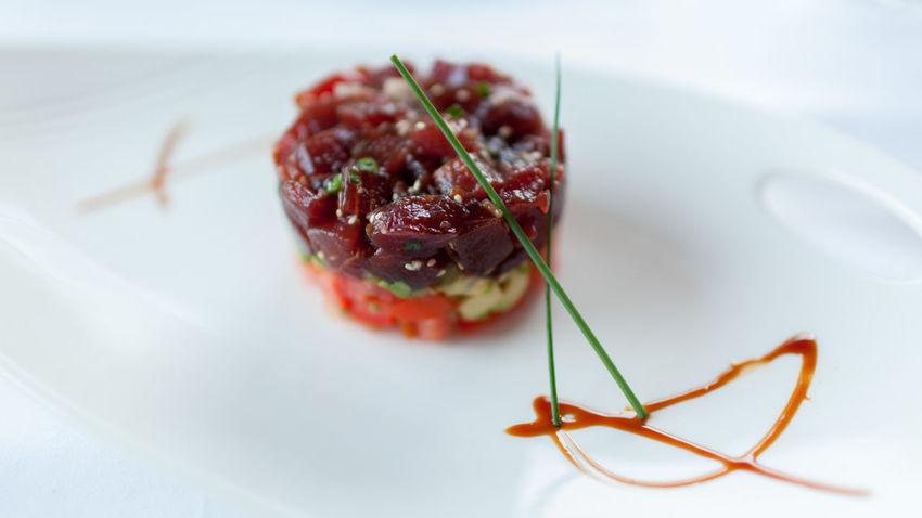 Close-up Day Food Freshness Healthy Eating No People Plate Ready-to-eat Tartar  Tuna Tuna Tartar