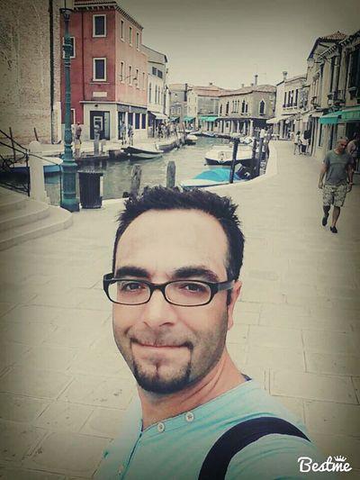 Hi! That's Me Traveling Venedig Insel Murano Enjoying Holiday