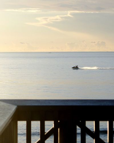Adventure Club Jetskiing Morning Ocean Moving Fast Showcase July