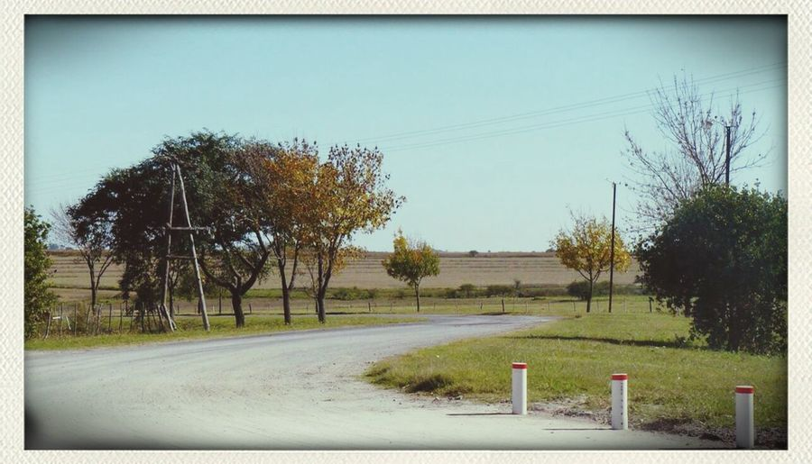 On The Road Landscape Argentina Campo Entre Ríos, abril 2014