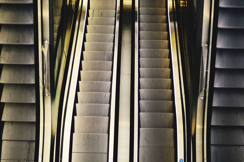 Best Of Stairways Indoors  Steps And Staircases Steps Staircase Architecture Built Structure No People Pattern Day Hand Rail Close-up