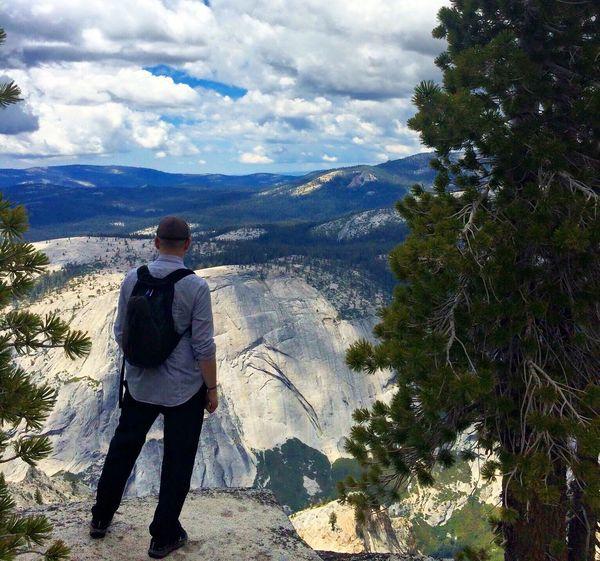 First Eyeem Photo ThatsMe Mountain Adventure Yosemite National Park Trees Sky Cloud - Sky Clouds And Sky Hiking Scenics Travel