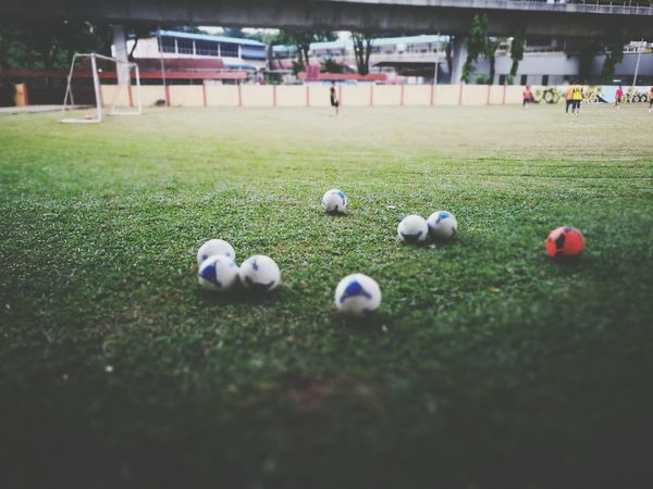 Grass Sport Togetherness Playing Field Football Field Ball Original First Eyeem Photo Hello World Zikayzander HuaweiP9 Colours Green Color Enjoying Life Malaysia Colour Of Life Nature
