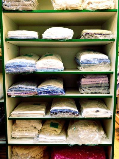 rows of things at Kleeblatt Textilpflege Rows Of Things