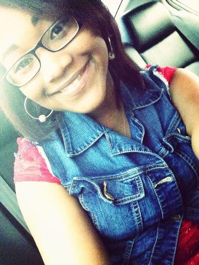 I smile through it all