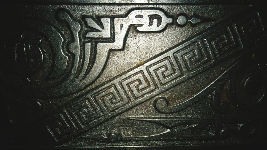 Vintage Castiron Stovedetail our 17th Century kitchen oven has some beautiful details, doesn't it?