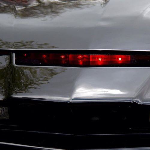 The shadowy flight into the dangerous world of a man, that doesn't exist. Kitt Knightrider