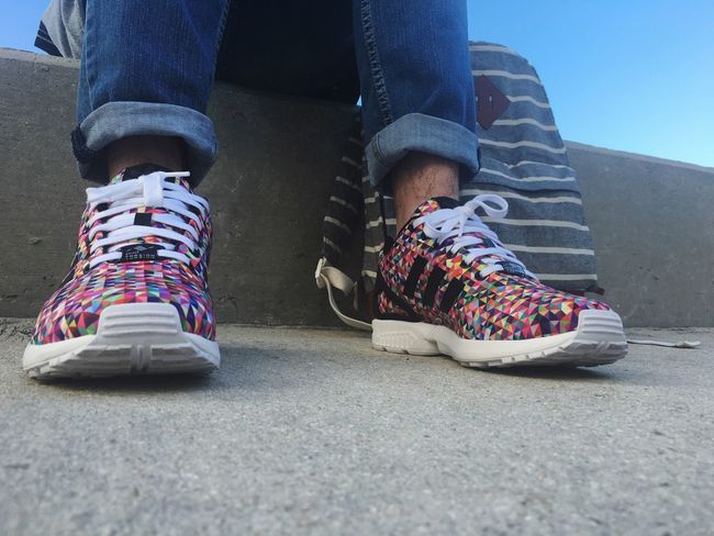 Adidas Zx Flux Sneakers Sunshine Miami