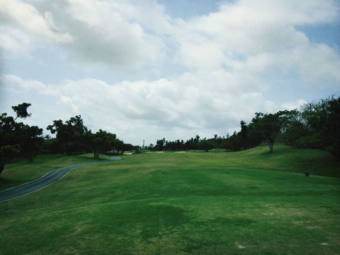 Golfing Okinawa