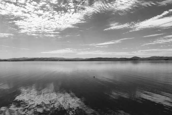 Morning Quiet Moments Enjoying The View The Great Outdoors - 2016 EyeEm Awards Nature Photography Landscape Morning Sky Morning Light Black And White On The Road Water Reflections Mirror Picture Lake Lake View