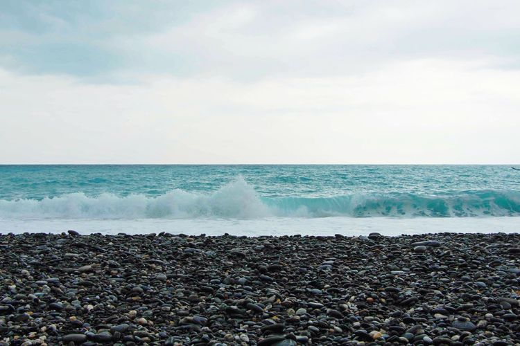 Traveling Hualien,Taiwan OpenEdit Sea Beach Sky Stones Stone