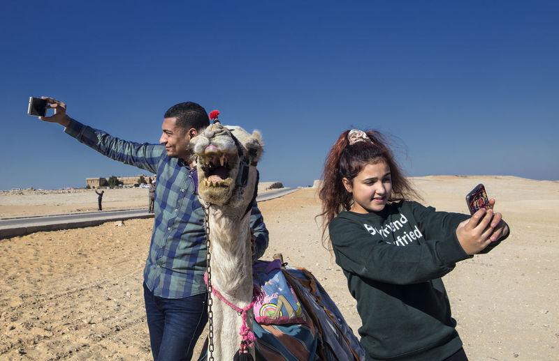 Camel Camel In Giza Close-up Egypt Egypt Cairo Egyptian Giza, Caïro, Egypt Posing Posing With Camel Selfie Selfie Time Selfie Time! Taking Pictures Mobile Conversations
