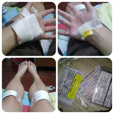 Too lucky with a lot of wound and medicine. Too steady. :(