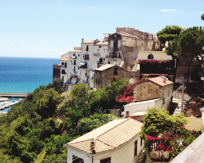 Sperlonga High Angle View Architecture Buildings,style,arquitecture,sky Seascape EyeEmNewHere Be. Ready. An Eye For Travel Go Higher Summer Exploratorium Adventures In The City