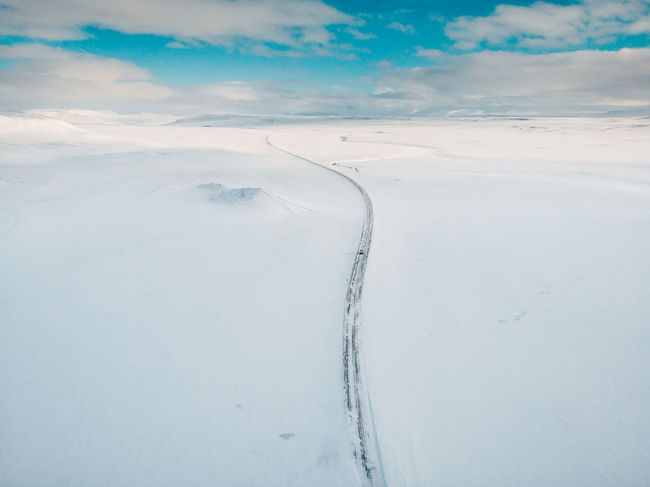 Road in winter Aerial Shot DJI Mavic Air Drone  Iceland Iceland Memories Mavic Air Nature Road Beauty In Nature Cloud - Sky Cold Temperature Day Environment Iceland Trip Iceland_collection Landscape Mavic Nature No People Non-urban Scene Outdoors Scenics - Nature Sky Snow Snowcapped Mountain Tranquil Scene Tranquility Winter The Great Outdoors - 2018 EyeEm Awards