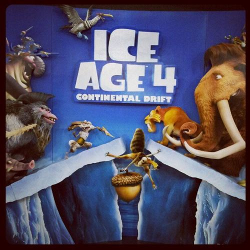 Something for tonight Iceage4 Continentaldrift MOVIE Theater reward