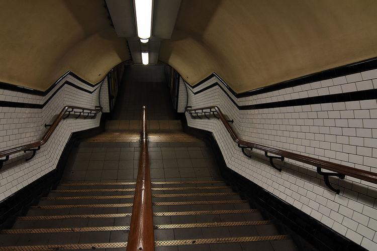 Steps At London Underground