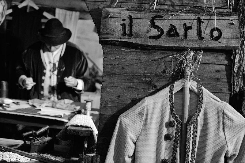 Sarto Work Black & White Presepe Sartoria  Caserta