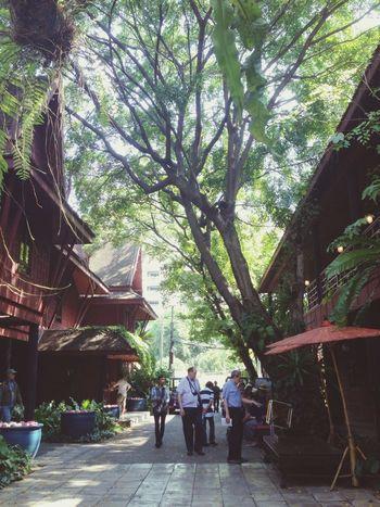Jim Thompson's Thai house