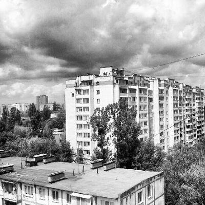 View from the 9th floor Vinnitsa Vnua Blackwhite SirSergePhoto Винница