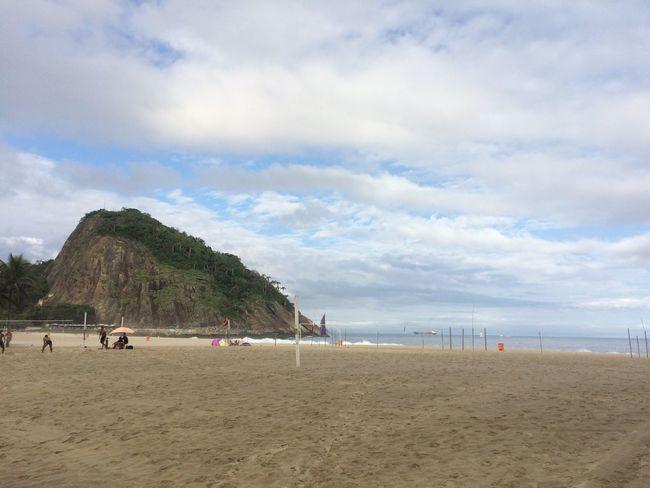 LeMe Leme Beach Praia Rio De Janeiro Rio De Janeiro Eyeem Fotos Collection⛵ Beach Mountain Sand Sea Sky