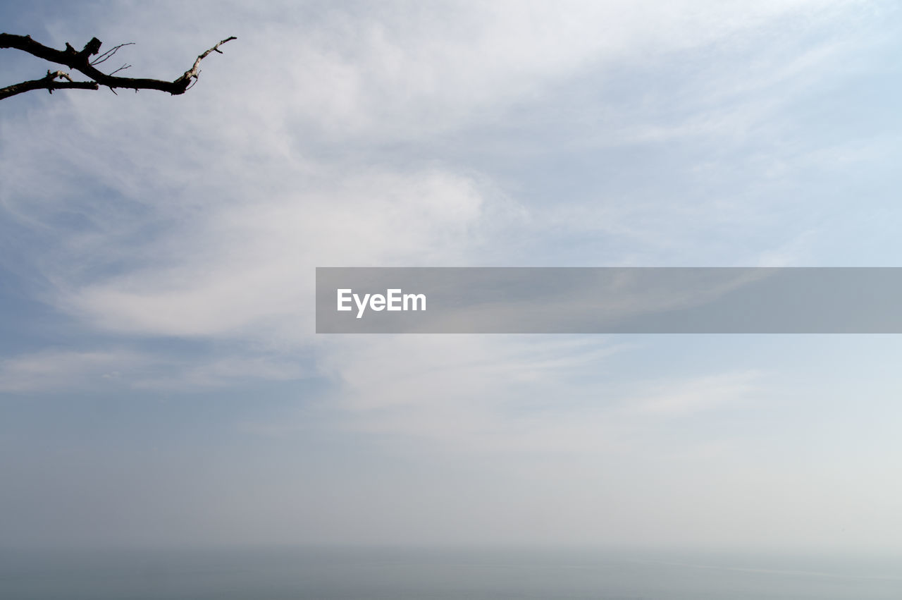 sky, cloud - sky, low angle view, sea, nature, outdoors, day, no people, beauty in nature, horizon over water, scenics, water