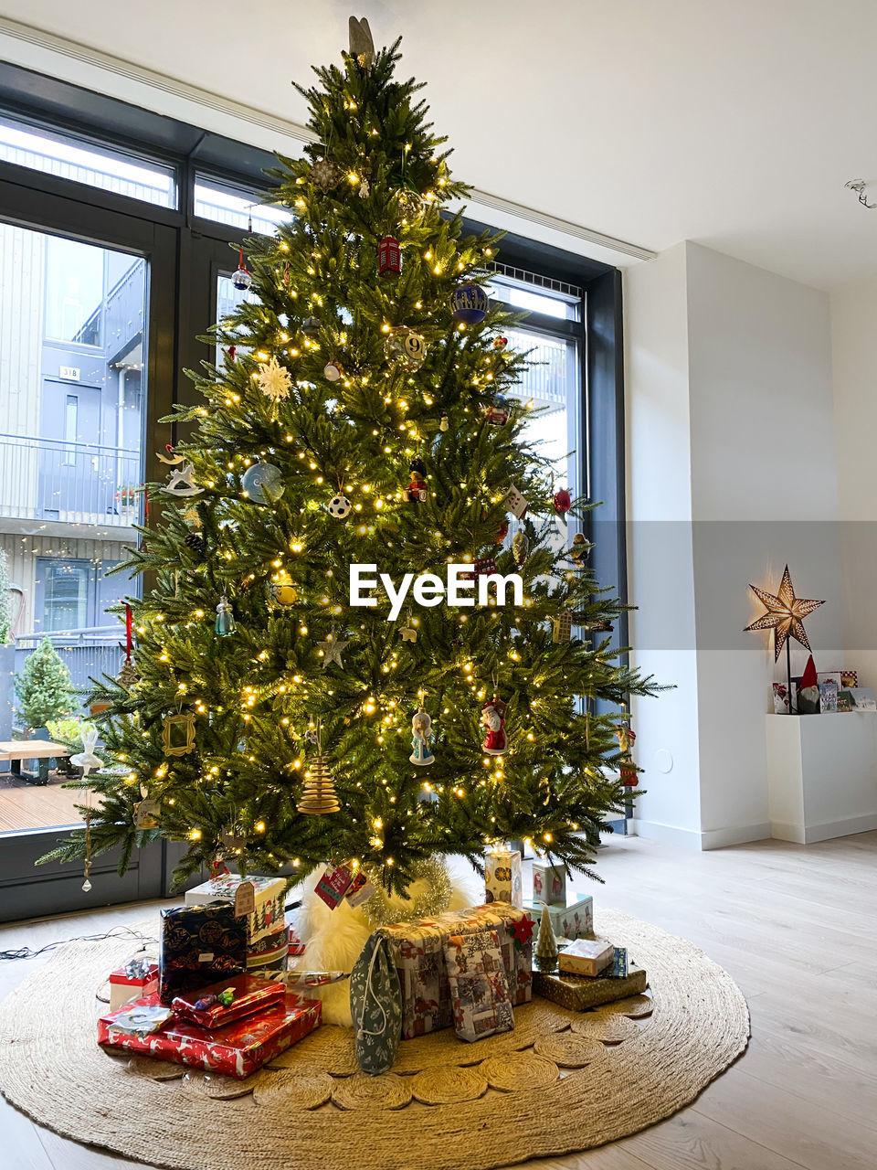 CHRISTMAS TREE ON HOME