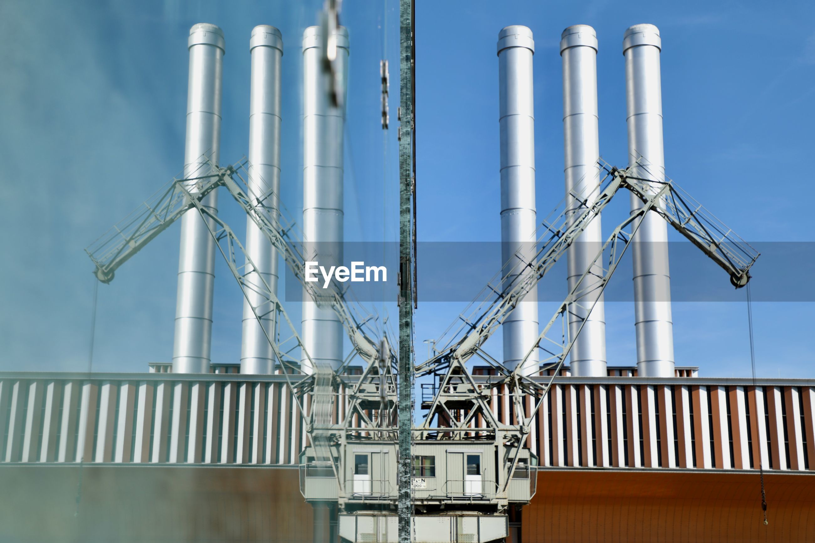 industry, fuel and power generation, factory, oil industry, pipe - tube, oil refinery, no people, pipeline, metal, petrochemical plant, day, smoke stack, built structure, outdoors, power station, refinery, sky, technology