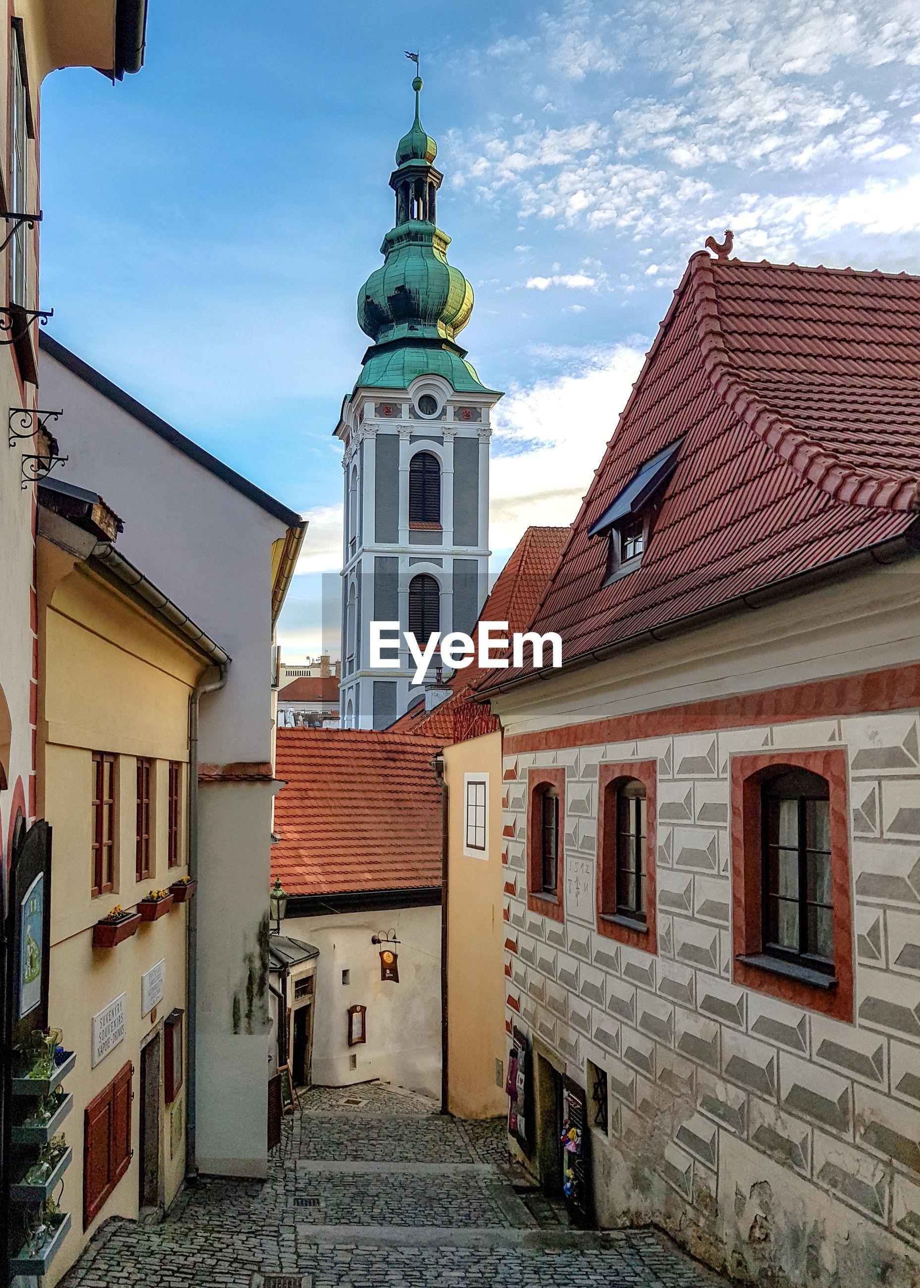 VIEW OF BUILDINGS AGAINST SKY